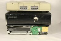 Sony PlayStation 1 and 2 Microsoft Xbox 360's For Parts/Repair