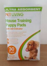 ultra absorbent pet living house training puppy pads 30 pack