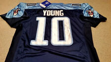 Tennessee Titans Vince Young Jersey Mens Size 50 Large Home Navy Rare New Oilers