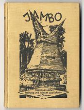 Deutsche Kolonien Afrika Übersee Abenteuer Jambo Kinder Jugend Zeitschrift 1930