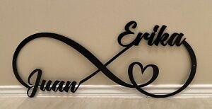 juan and erika infinity love sign