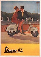 Original Plakat - Vespa G.S.