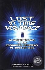 Doctor Who Lost in Time and Space Unofficial Guide Uncharted Journeys SC MINT