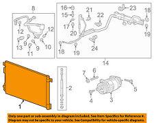 GM OEM A/C AC Condenser, Compressor Line-Condenser 23479280