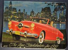 1950 Studebaker Brochure Commander Champion Land Cruiser Nice Original 50