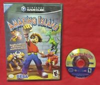 Amazing Island -  Nintendo GameCube Game Tested Works NGC