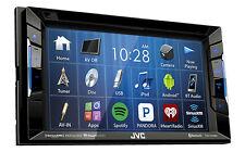 """JVC KW-V130BT Double DIN BT In-Dash DVD/CD/AM/FM w/ 6.2"""" Touchscreen"""