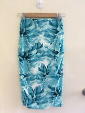KOOKAI   Floral   Women's   Bandage   Wrap   Skirt   Size 1 6 8
