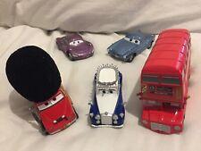 Disney STORE Pixar Cars LONDON CALLING QUEEN BUS FINN 1:43 Diecast TOKYO DRIFT