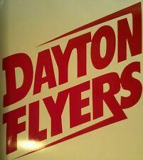 Dayton Flyers Vinyl  Decal Set Cornhole - Window Decals