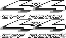 Vinylmark 4x4 Off Road Decals Fits 1997-1999 Ford F150 F250 F350 Truck - Black