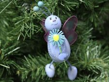 """Easter Purple Butterfly """"Spring"""" Holiday Ornament"""