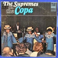 THE SUPREMES VINYL At The Copa LP Diana Ross 1965 Motown Live