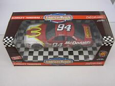 1/18th scale 1996 Thunderbird McDonald Bill Elliott #94 Nascar ERTL Diecast Car
