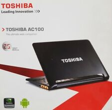 "Toshiba AC100-10V Netbook 10,1"" 8GB NVIDIA Tegra 1 GHz, 512 MB WLAN Android 3G"