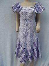 VINTAGE 1970s DITSY FLORAL PRINT DRESS -  PEASANT / PRAIRIE / HIPPY / BOHO