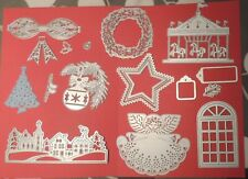 A Nice Collection of  CHRISTMAS  Die Cutters