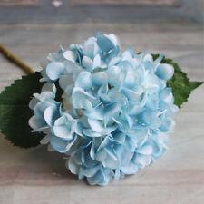6 Heads Artificial Hydrangea Silk Fake Flowers Wedding Home Decor Flowers Supply