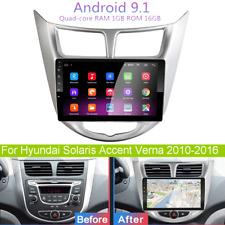 For Hyundai Solaris Accent Verna 9