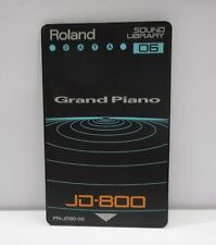 Roland JD800 / JD990 PN-JD80-06 Grand Piano Soundcard Free Shipping...