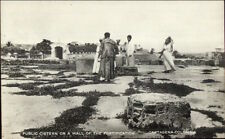 Cartagena Columbia Public Cistern c1910 Real Photo Postcard