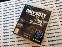 PS3 PAL) ITA CALL OF DUTY GHOSTS PRIMA STAMPA NUOVO SIGILLATO PLAYSTATION 3_24h!