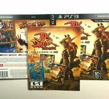 (MANUAL AND ARTWORK ONLY) (NO GAME) PS3 - Jak and Daxter Collection