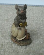 """Tom Clark Tim Wolfe Tardy Mouse on Shell Figurine Edition 46 2"""" Tall"""