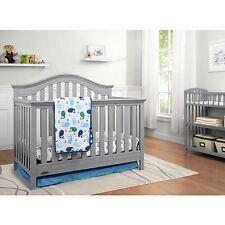 Graco Bryson 4-in-1 Convertible Crib, Pebble Gray New, **Mattress Included**