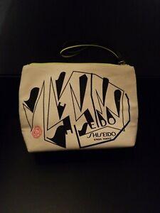 Shiseido Makeup Beauty Cosmetic Zipper Bag Canvas
