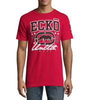 NWT ECKO UNLTD. RHINO AUTHENTIC SHORT SLEEVE LOGO GRAPHIC RED T-SHIRT SIZE L