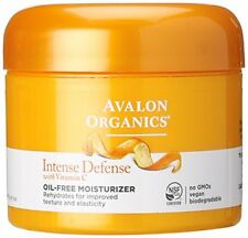 Avalon Organics Intense Defense with Vitamin C Oil-Free Moisturizer 2 oz