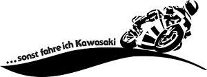 Aufkleber, Auto, Folie,Motorrad, Kawasaki, Beschriftung