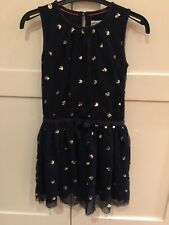 Mini Boden Christmas Party Dress with Sequins Age 5 - 6