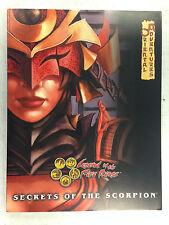 LEGEND OF THE FIVE RINGS RPG ORIENTAL ADVENTURE SECRETS OF THE SCORPION AEG 3027