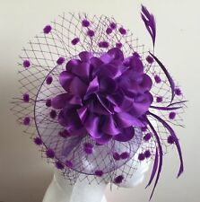 Elegant Headband Fascinator Hat Aliceband Ladies Day,Race Royal Ascot,Wedding-UK