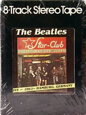 THE BEATLES Live At The Star Club 1962 Hamburg NEW SEALED 8 TRACK CARTRIDGE