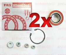PAIR Front Wheel Bearing Kit  Audi TT VOLKSWAGEN Bettle Golf Jetta