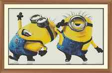 Minions 100 Cross Stitch Chart  x 12.0 x 7.7Inches