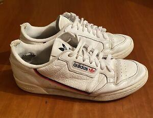 Adidas Originals Continental 80 White (B41674) Men's Shoe, Size 10