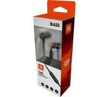 JBL T290 Headphones Earphones Pure Bass Harman - Black