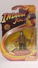 INDIANA JONES & regno del teschio di cristallo Cimitero WARRIOR Figura. maggior parte dei non aperto.
