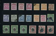 NORTH BORNEO, a collection of 117 stamps for sorting, used, MNG & CTO condition.