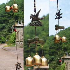 3 Bells Windspiel Klangspiel Natur Windharfe Perfekt Haus Garten Dekration