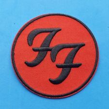 PUNK ROCK HEAVY METAL MUSIC FESTIVAL SEW ON / IRON ON PATCH:- FOO FIGHTERS (b)
