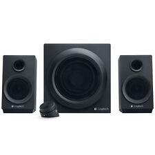 Logitech Z333 2.1 Multimedia Lautsprechersystem 80 Watt 3,5mm NEU
