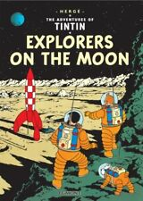 Explorers on the Moon (Tintin)-Herge