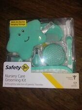 New! Safety 1st Nursery Grooming Kit. Green Aqua Color