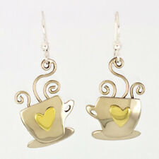 Latte Cup Earrings - Mima and Oly Far Fetched - Coffee Java Tea Dangle *NEW*