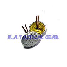 WWII WW2 Repro German EM Officer Hat Button Pin Metal